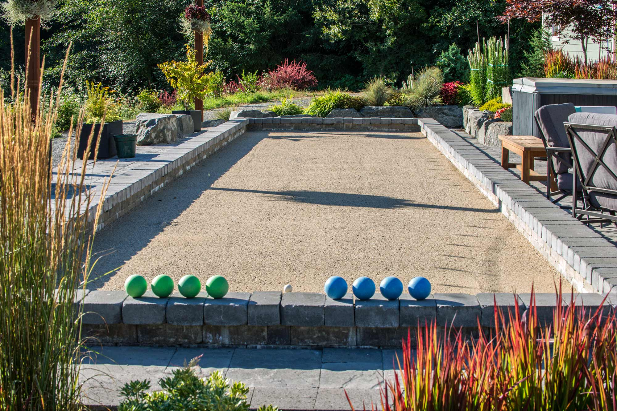 Olympica bocce ball court
